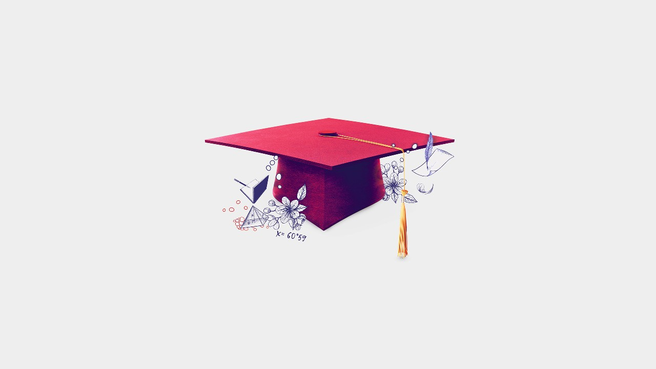 Graduation cap;  image used for  HSBC India Premier Overseas Education page