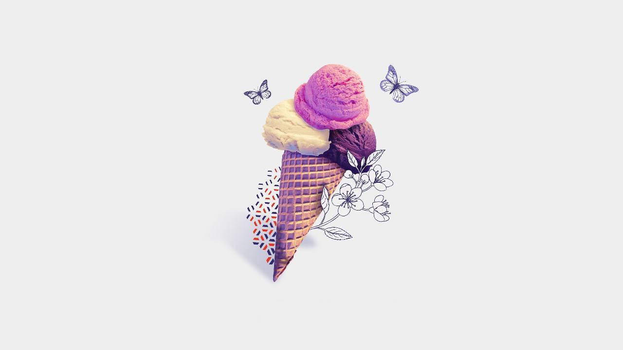 Ice cream; image used for  HSBC India Premier Day-to-day Banking Privileges page